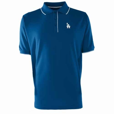 Los Angeles Dodgers Mens Elite Polo Shirt (Color: Royal)