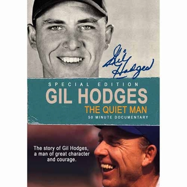 Los Angeles Dodgers Gil Hodges: The Quiet Man DVD