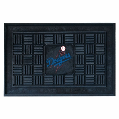 Los Angeles Dodgers Heavy Duty Vinyl Doormat
