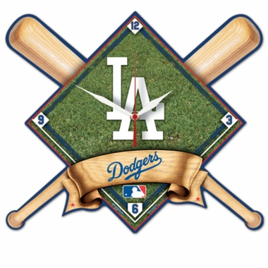 Los Angeles Dodgers High Definition Wall Clock