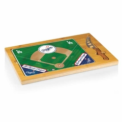Los Angeles Dodgers Icon 3 Piece Cheese Set