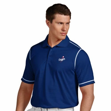 Los Angeles Dodgers Mens Icon Polo (Team Color: Royal)