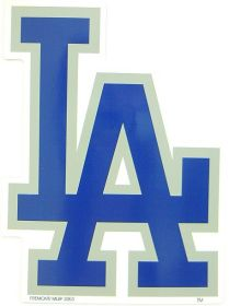 Los Angeles Dodgers Individual Car Magnet