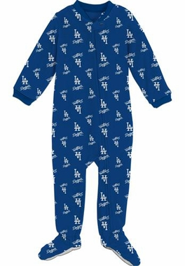 Los Angeles Dodgers Infant Footed Coverall Sleeper