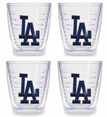 Los Angeles Dodgers (LA) Set of FOUR 12 oz. Tervis Tumblers