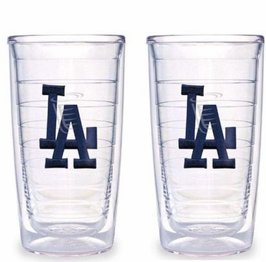 Los Angeles Dodgers (LA) Set of TWO 16 oz. Tervis Tumblers