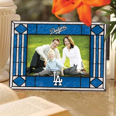 Los Angeles Dodgers Landscape Art Glass Picture Frame