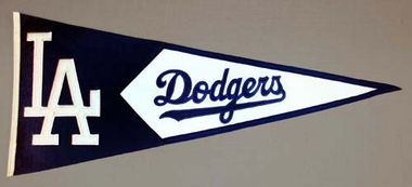 Los Angeles Dodgers Large Wool Pennant