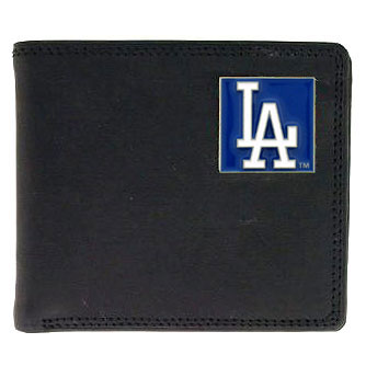 Los Angeles Dodgers Leather Bifold Wallet (F)