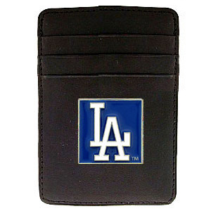 Los Angeles Dodgers Leather Money Clip (F)