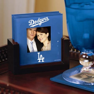 Los Angeles Dodgers Photo Coaster Set