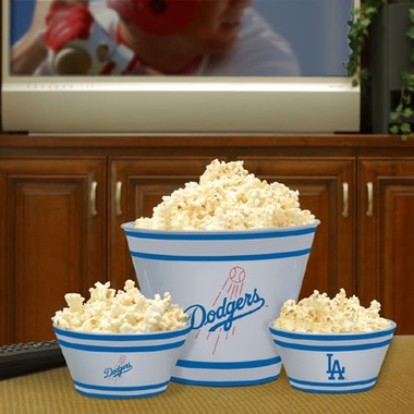 Los Angeles Dodgers Plastic Serving Set