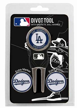 Los Angeles Dodgers Repair Tool and Ball Marker Gift Set
