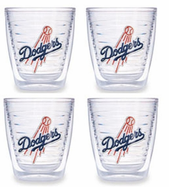 Los Angeles Dodgers (Script) Set of FOUR 12 oz. Tervis Tumblers