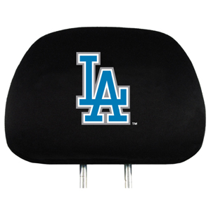 Los Angeles Dodgers Set of Headrest Covers