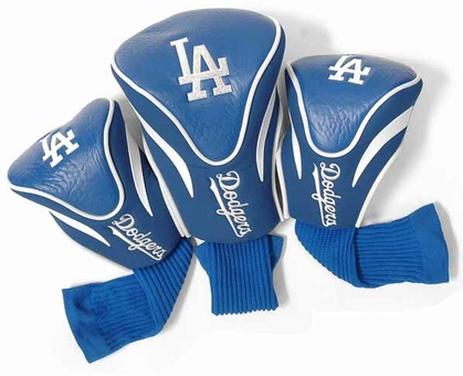 Los Angeles Dodgers Set of Three Contour Headcovers