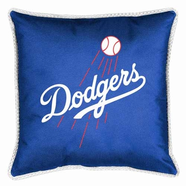 Los Angeles Dodgers SIDELINES Jersey Material Toss Pillow