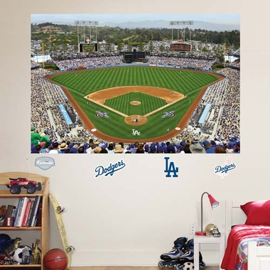 Los Angeles Dodgers Stadium Fathead Wall Graphic