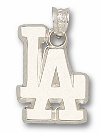 Los Angeles Dodgers Sterling Silver Pendant