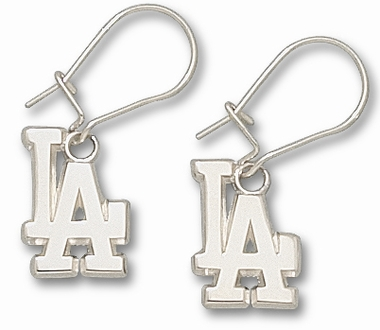 Los Angeles Dodgers Sterling Silver Post or Dangle Earrings