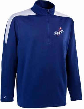 Los Angeles Dodgers Mens Succeed 1/4 Zip Performance Pullover (Team Color: Royal)