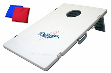 Los Angeles Dodgers Tailgate Toss 2.0 Cornhole Beanbag Game