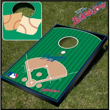 Los Angeles Dodgers Tailgate Toss Cornhole Beanbag Game
