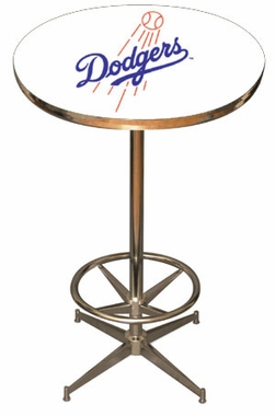 Los Angeles Dodgers Team Pub Table