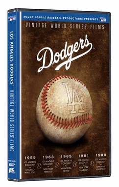 Los Angeles Dodgers Vintage World Series Films DVD Set