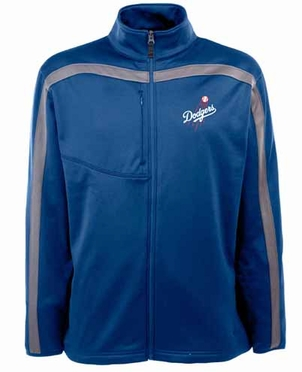 Los Angeles Dodgers Mens Viper Full Zip Performance Jacket (Team Color: Royal)