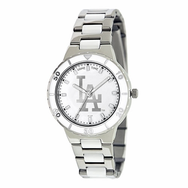Los Angeles Dodgers Women's Pearl Watch