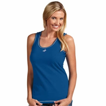 Los Angeles Dodgers Womens Sport Tank Top (Team Color: Royal)