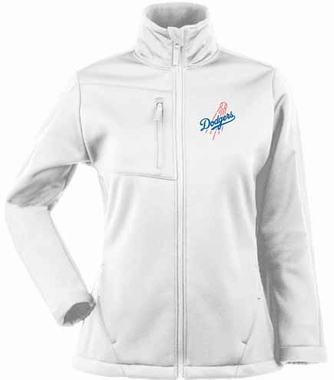 Los Angeles Dodgers Womens Traverse Jacket (Color: White)