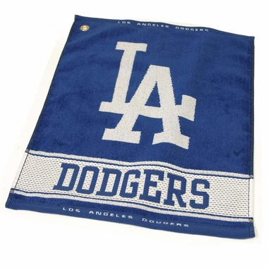 Los Angeles Dodgers Woven Golf Towel