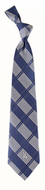 Los Angeles Dodgers Woven Plaid Necktie