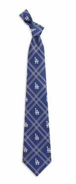Los Angeles Dodgers Woven Poly 2 Necktie
