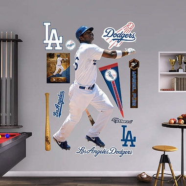 Los Angeles Dodgers Yasiel Puig Fathead Wall Graphic