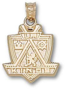 Los Angeles Kings 10K Gold Pendant