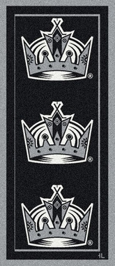 "Los Angeles Kings 2'1"" x 7'8"" Premium Runner Rug"
