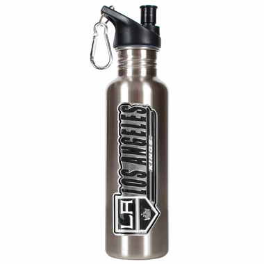 Los Angeles Kings 26oz Stainless Steel Water Bottle (Silver)