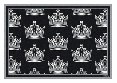 "Los Angeles Kings 5'4"" x 7'8"" Premium Pattern Rug"