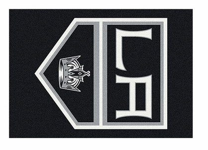 "Los Angeles Kings 5'4"" x 7'8"" Premium Spirit Rug"