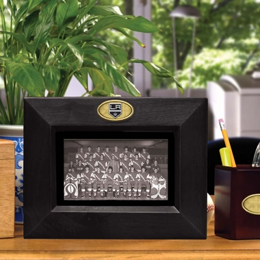 Los Angeles Kings BLACK Landscape Picture Frame