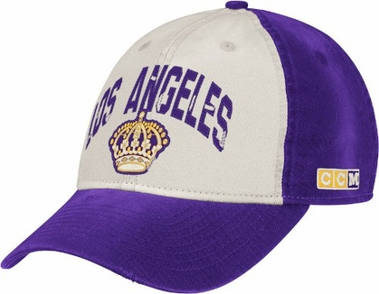 Los Angeles Kings CCM Throwback Adjustable Slouch Hat