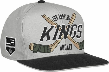 Los Angeles Kings Cross Sticks Snap back Hat