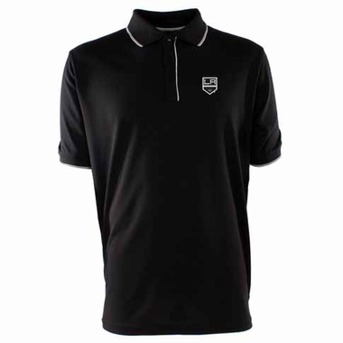 Los Angeles Kings Mens Elite Polo Shirt (Team Color: Black)