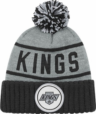 Los Angeles Kings High 5 Vintage Cuffed Pom Hat