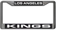 Los Angeles Kings Laser Etched Chrome License Plate Frame