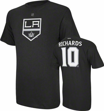 Los Angeles Kings Mike Richards Name and Number T-Shirt