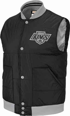Los Angeles Kings Mitchell & Ness Free Agent Throwback Snap Vest Jacket
